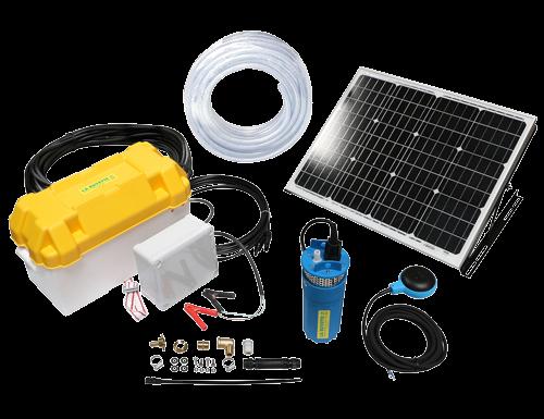 SOLAR-BASIC 12V bomba solar