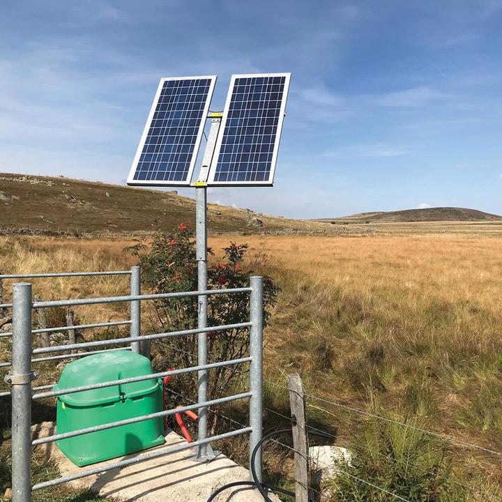 Bomba solar SOLAR-FLOW ALMACINAMIENTO 24 V