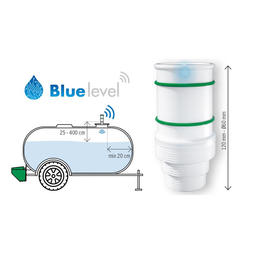 Indicador de nivel conectado BLUE LEVEL