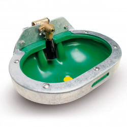 F25 Non-spill HDPE drinker with full metal protection