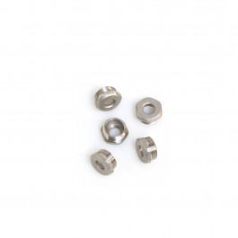 5 STAINLESS STEEL PLUGS