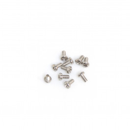 BAG WITH 10 STAINLESS 6X12 STEEL SCREWS. replaces 2250112