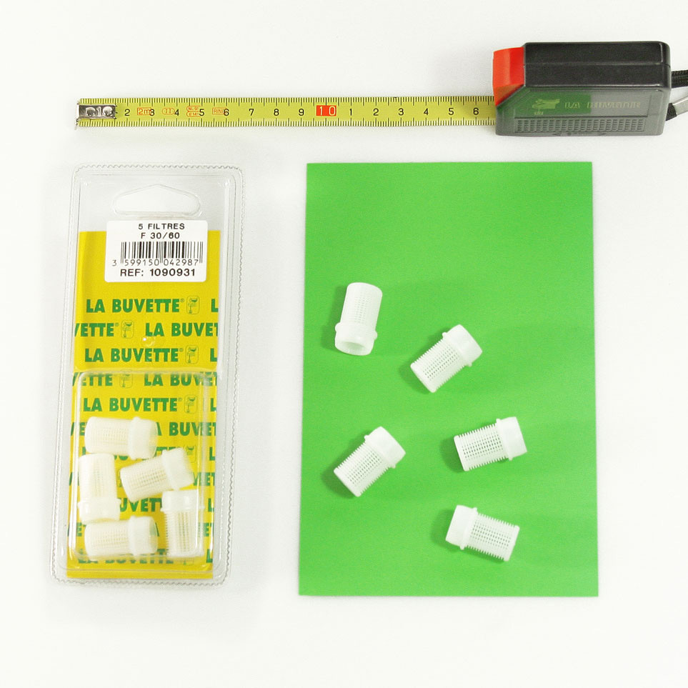 5 FILTERS F30/60 BLISTER PACK