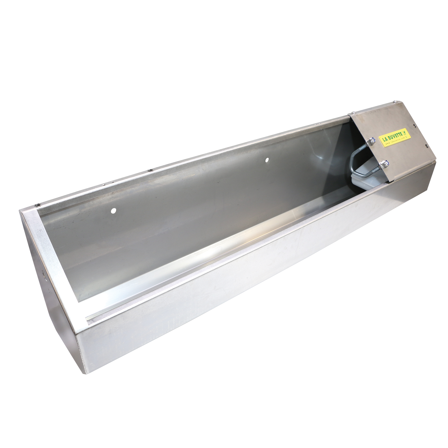 NEW OVICAP INOX 120 stainless steel TROUGH