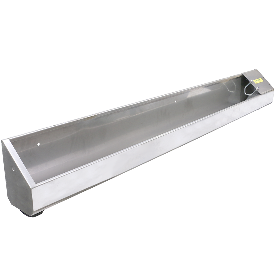 NEW OVICAP INOX 240 stainless steel TROUGH