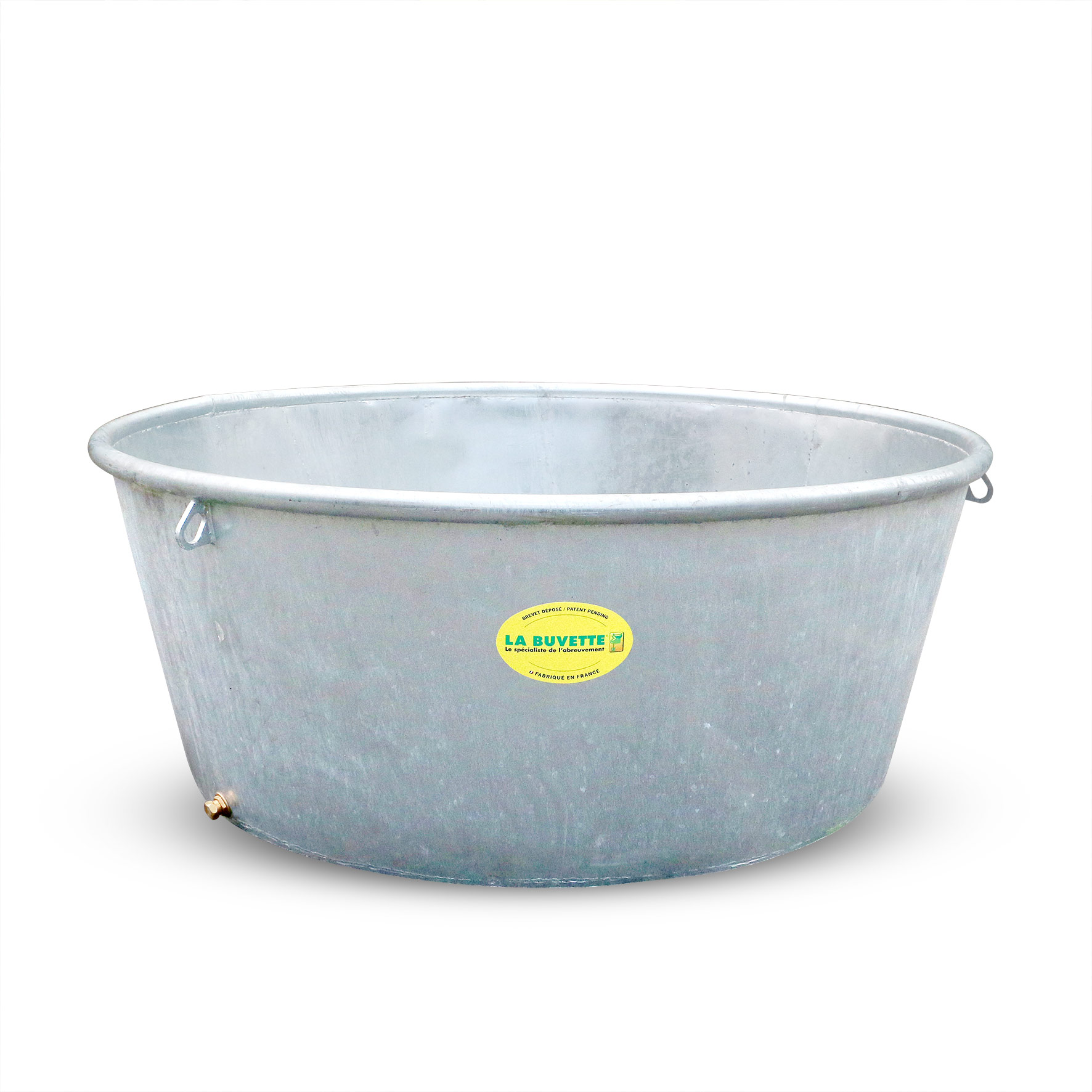Galvanised water trough 1000 L